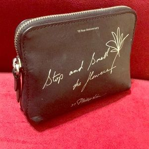3.1 Phillip Lim leather cosmetic bag